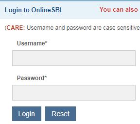 login details